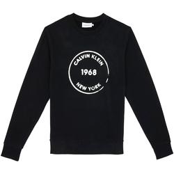 Υφασμάτινα Άνδρας Φούτερ Calvin Klein Jeans K10K104548 Μαύρος