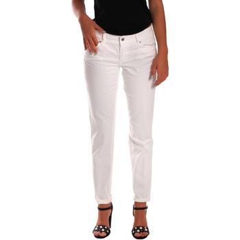 Υφασμάτινα Γυναίκα Skinny Τζιν  Gas 355661 λευκό