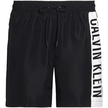 Υφασμάτινα Άνδρας Μαγιώ / shorts για την παραλία Calvin Klein Jeans KM0KM00437 Μαύρος