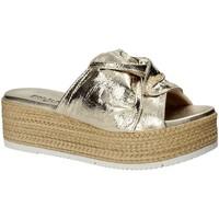 Παπούτσια Γυναίκα Τσόκαρα Pregunta IL02402-CL Κίτρινος