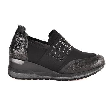 Παπούτσια Γυναίκα Slip on Melluso R25510 Μαύρος