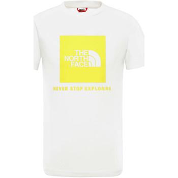 Υφασμάτινα Παιδί T-shirt με κοντά μανίκια The North Face NF0A3BS2P801 λευκό