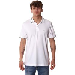 Υφασμάτινα Άνδρας Πόλο με κοντά μανίκια  Calvin Klein Jeans K10K105183 λευκό