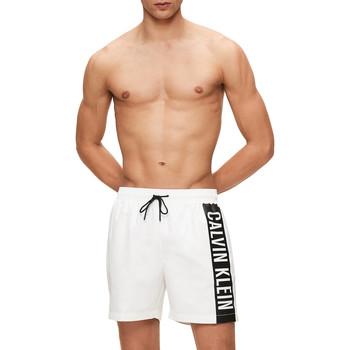 Υφασμάτινα Άνδρας Μαγιώ / shorts για την παραλία Calvin Klein Jeans KM0KM00437 λευκό
