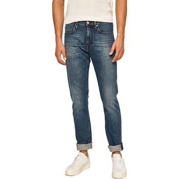 Υφασμάτινα Άνδρας Τζιν σε ίσια γραμμή Calvin Klein Jeans K10K105468 Μπλε