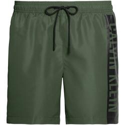 Υφασμάτινα Άνδρας Μαγιώ / shorts για την παραλία Calvin Klein Jeans KM0KM00437 Πράσινος
