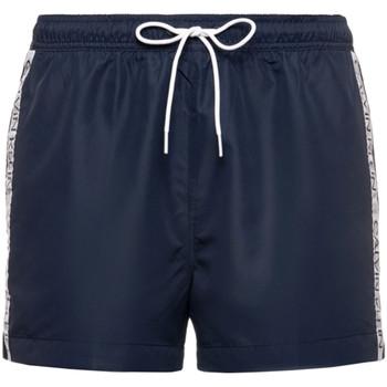 Υφασμάτινα Άνδρας Σόρτς / Βερμούδες Calvin Klein Jeans KM0KM00457 Μπλε