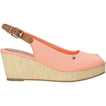 Παπούτσια Γυναίκα Σανδάλια / Πέδιλα Tommy Hilfiger FW0FW04788 Ροζ