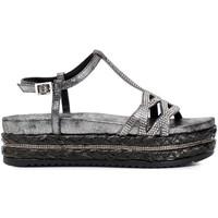 Παπούτσια Γυναίκα Σανδάλια / Πέδιλα Café Noir HC913 Γκρί