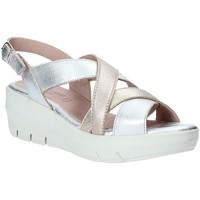 Παπούτσια Γυναίκα Σανδάλια / Πέδιλα Grunland SA1876 Ασήμι
