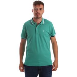 Υφασμάτινα Άνδρας Πόλο με κοντά μανίκια  Navigare NV82077 Πράσινος