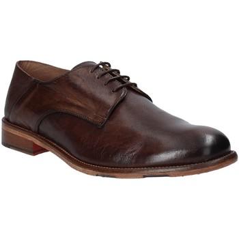 Παπούτσια Άνδρας Derby Exton 3101 καφέ
