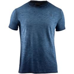 Υφασμάτινα Άνδρας T-shirt με κοντά μανίκια Lumberjack CM60343 004 517 Μπλε