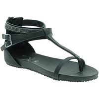 Παπούτσια Γυναίκα Σανδάλια / Πέδιλα 18+ 6110 Μαύρος