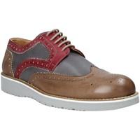 Παπούτσια Άνδρας Derby Exton 5105 καφέ