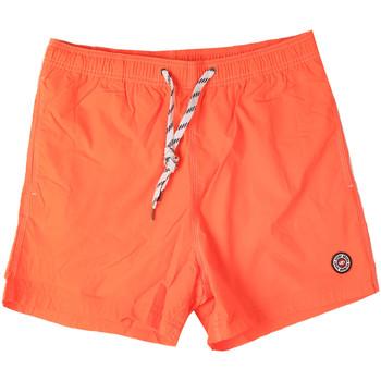Υφασμάτινα Άνδρας Μαγιώ / shorts για την παραλία Key Up 298XM 0001 Πορτοκάλι