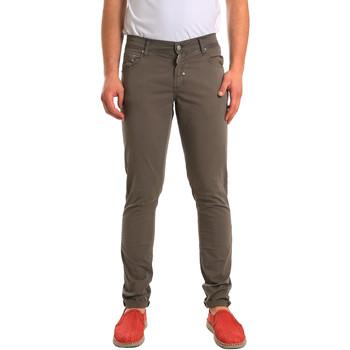 Υφασμάτινα Άνδρας Παντελόνια Πεντάτσεπα Antony Morato MMTR00372 FA800060 Πράσινος