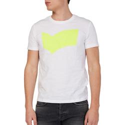 Υφασμάτινα Άνδρας T-shirt με κοντά μανίκια Gas 542973 λευκό