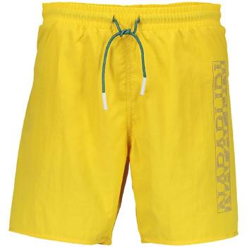 Υφασμάτινα Άνδρας Μαγιώ / shorts για την παραλία Napapijri N0YHST Κίτρινος