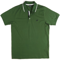 Υφασμάτινα Άνδρας Πόλο με κοντά μανίκια  Key Up 2Q711 0001 Πράσινος