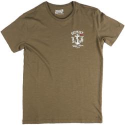 Υφασμάτινα Άνδρας T-shirt με κοντά μανίκια Key Up 2G77S 0001 Πράσινος