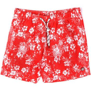 Υφασμάτινα Άνδρας Μαγιώ / shorts για την παραλία Key Up 2M09X 0001 το κόκκινο
