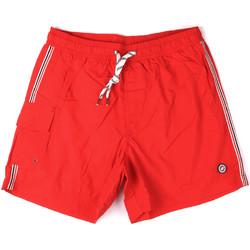 Υφασμάτινα Άνδρας Μαγιώ / shorts για την παραλία Key Up 2H16X 0001 το κόκκινο