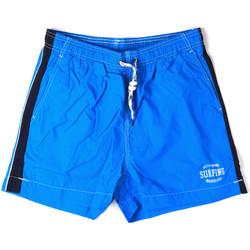 Υφασμάτινα Άνδρας Μαγιώ / shorts για την παραλία Key Up 2H17X 0001 Μπλε