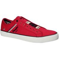 Παπούτσια Άνδρας Χαμηλά Sneakers Wrangler WM181033 το κόκκινο