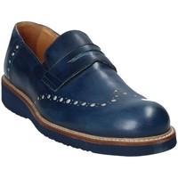 Παπούτσια Άνδρας Μοκασσίνια Exton 885 Μπλε