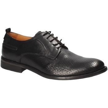 Παπούτσια Άνδρας Derby Exton 9430 Μαύρος