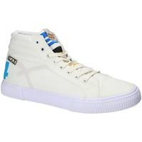 Παπούτσια Άνδρας Ψηλά Sneakers Gas GAM810152 λευκό