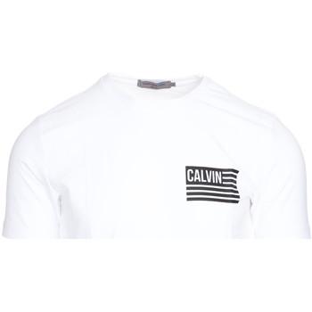 Υφασμάτινα Άνδρας T-shirt με κοντά μανίκια Calvin Klein Jeans J30J306891 λευκό