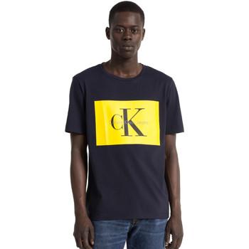 Υφασμάτινα Άνδρας T-shirt με κοντά μανίκια Calvin Klein Jeans J30J307427 Μπλε