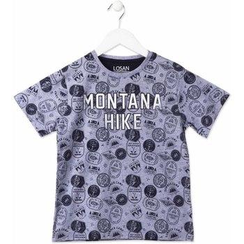 Υφασμάτινα Παιδί T-shirt με κοντά μανίκια Losan 813-1007AA Μπλε