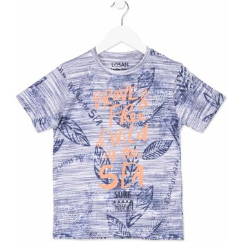 Υφασμάτινα Παιδί T-shirt με κοντά μανίκια Losan 813-1023AA Μπλε