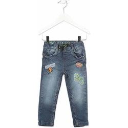 Υφασμάτινα Παιδί Skinny Τζιν  Losan 815-6019AC Γκρί