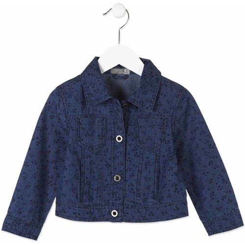 Υφασμάτινα Παιδί Τζιν Μπουφάν/Jacket  Losan 816-2002AD Μπλε