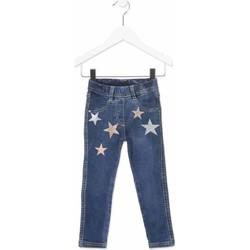 Υφασμάτινα Παιδί Skinny Τζιν  Losan 816-6013AD Μπλε