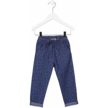 Υφασμάτινα Παιδί Παντελόνια Chino/Carrot Losan 816-9010AD Μπλε