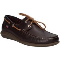 Παπούτσια Άνδρας Boat shoes CallagHan 14400 καφέ