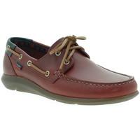 Παπούτσια Άνδρας Boat shoes CallagHan 14400 το κόκκινο