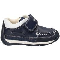 Παπούτσια Αγόρι Μοκασσίνια Geox B720BC 08513 Μπλε