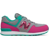 Παπούτσια Κορίτσι Χαμηλά Sneakers New Balance NBGC574KWT Γκρί