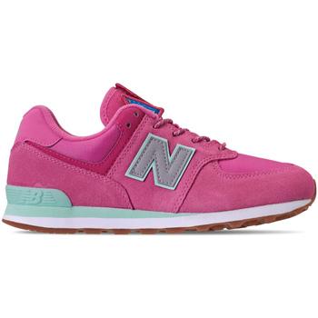 Παπούτσια Κορίτσι Χαμηλά Sneakers New Balance NBGC574PAF Ροζ