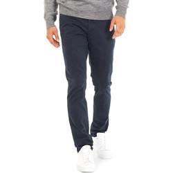Υφασμάτινα Άνδρας Παντελόνια Chino/Carrot Gas 360702 Μπλε