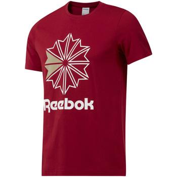 Υφασμάτινα Άνδρας T-shirt με κοντά μανίκια Reebok Sport DH2096 το κόκκινο