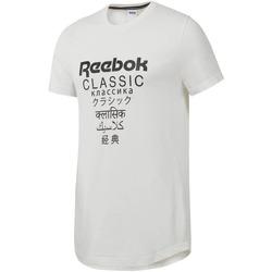 Υφασμάτινα Άνδρας T-shirt με κοντά μανίκια Reebok Sport DJ1893 λευκό