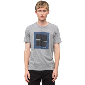 Υφασμάτινα Άνδρας T-shirt με κοντά μανίκια Calvin Klein Jeans K10K102679 Γκρί