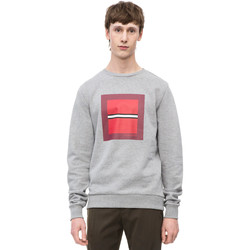 Υφασμάτινα Άνδρας Φούτερ Calvin Klein Jeans K10K102722 Γκρί